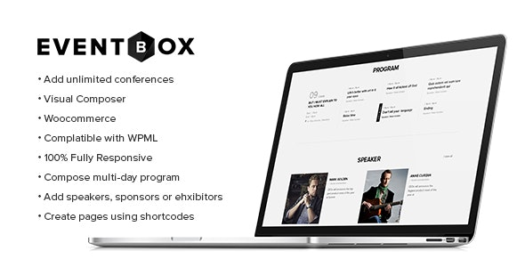 Eventbox - Club Workshop:Party WordPress Theme