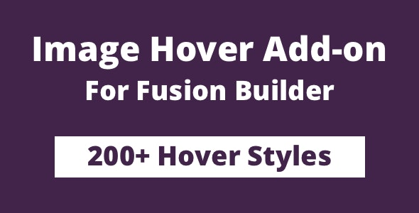 Image Hover Add-on for Fusion Builder and Avada