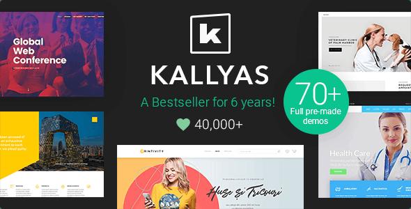 KALLYAS - Responsive Multi-Purpose Theme