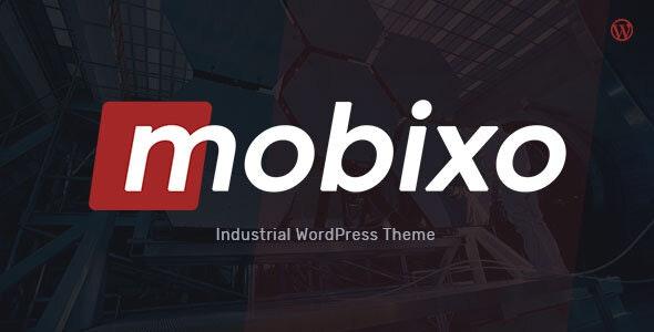 Mobixo - Industry WordPress Theme