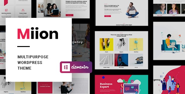 Miion - Multi-Purpose WordPress Theme